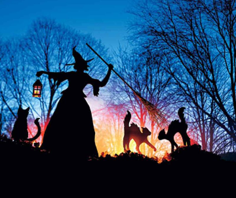 Best DIY Halloween Outdoor Decorations For Witches - Best diy halloween outdoor decorations