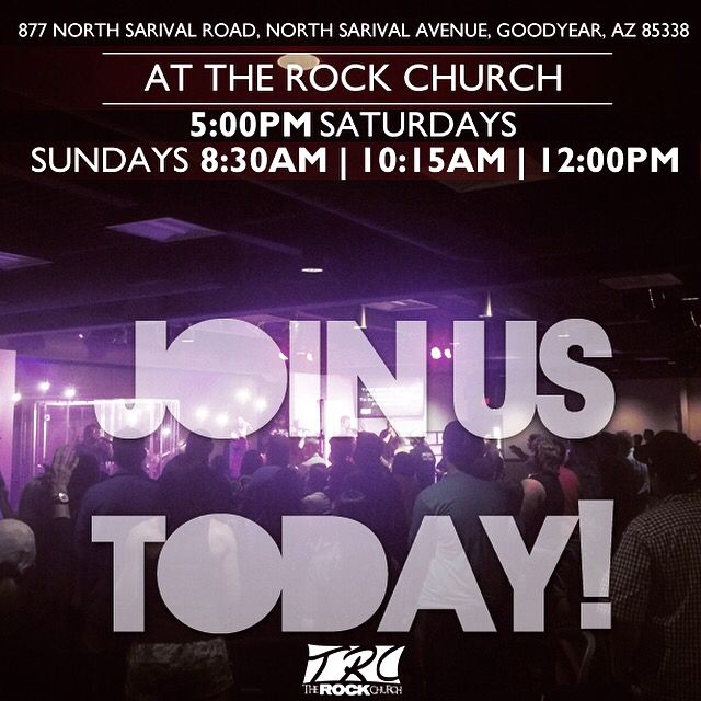 Join us at The Rock