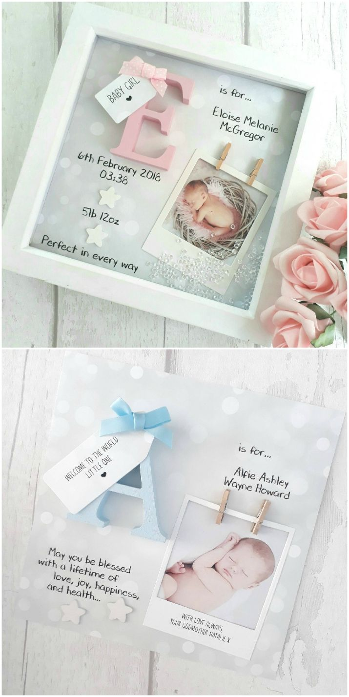 Photo of New Baby Shadow Box Ideas DIY Video Instructions