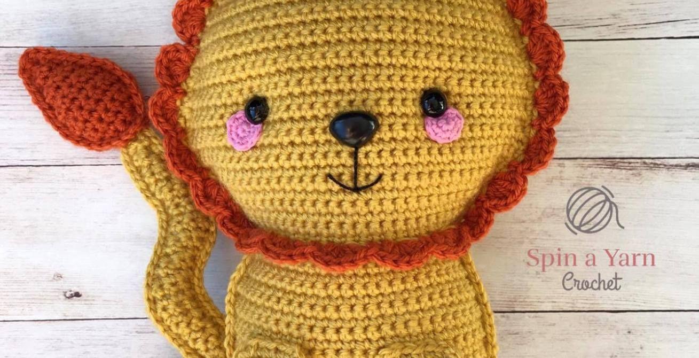 Ragdoll Lion Free Crochet Pattern • Spin a Yarn Crochet | crochet ...