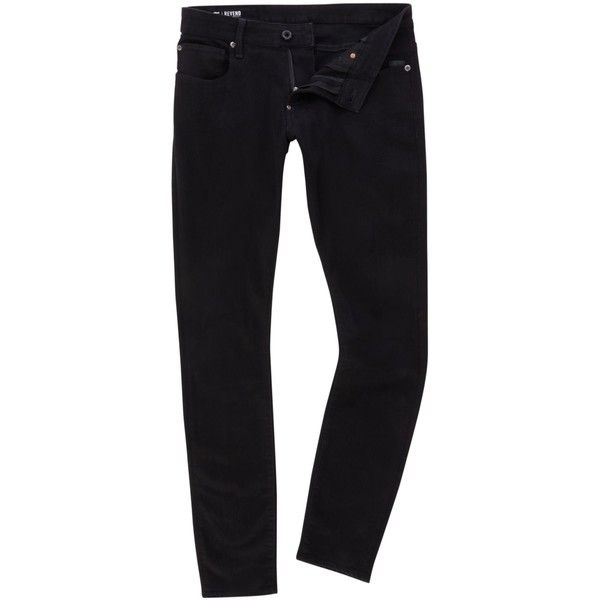 G Star Revend Super Slim Hino Black Stretch Denim Jeans 330 Brl Liked On Polyvore Featuring Men S Fashion Men Mens Jeans Slim Mens Outfits Slim Fit Jeans