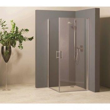 Dusjdør til dusjhjørne Vario Rett 84,586,5 cm Camargue