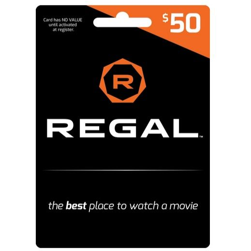 Photo of $50 Regal Gift Card $42.50