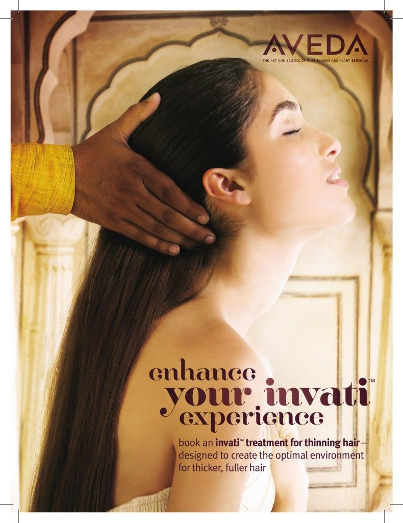 Free Invati Treatment At Aveda Salon -