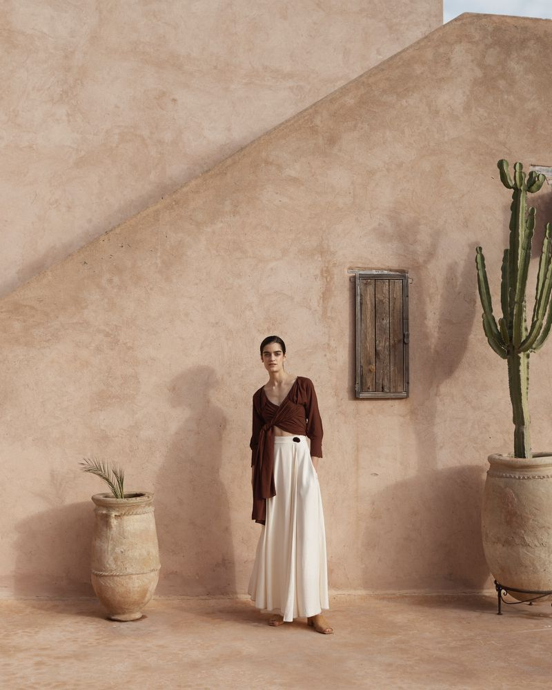 Moorish New Neutrals: Celine Delaugere by Bridget