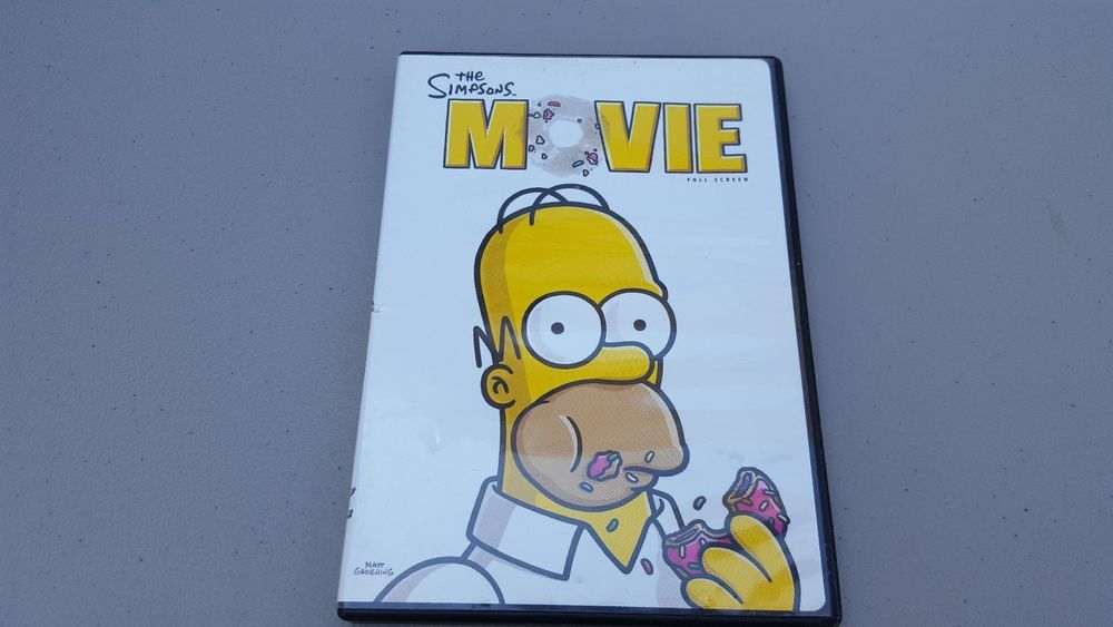 The Simpsons Movie Dvd Full Screen 2007 The Simpsons Movie The Simpsons Simpson