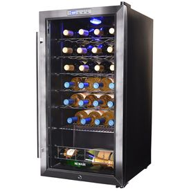 Newair 27-Bottle Stainless Steel Wine Chiller Awc-270E
