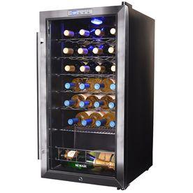 Newair 27-Bottle Stainless Steel Wine Chiller Awc-270E