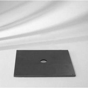 Beschwerungsplatte 30 kg, 57,5 x 57,5 x 1,7 cm, Stahl verzinkt für Glatz…