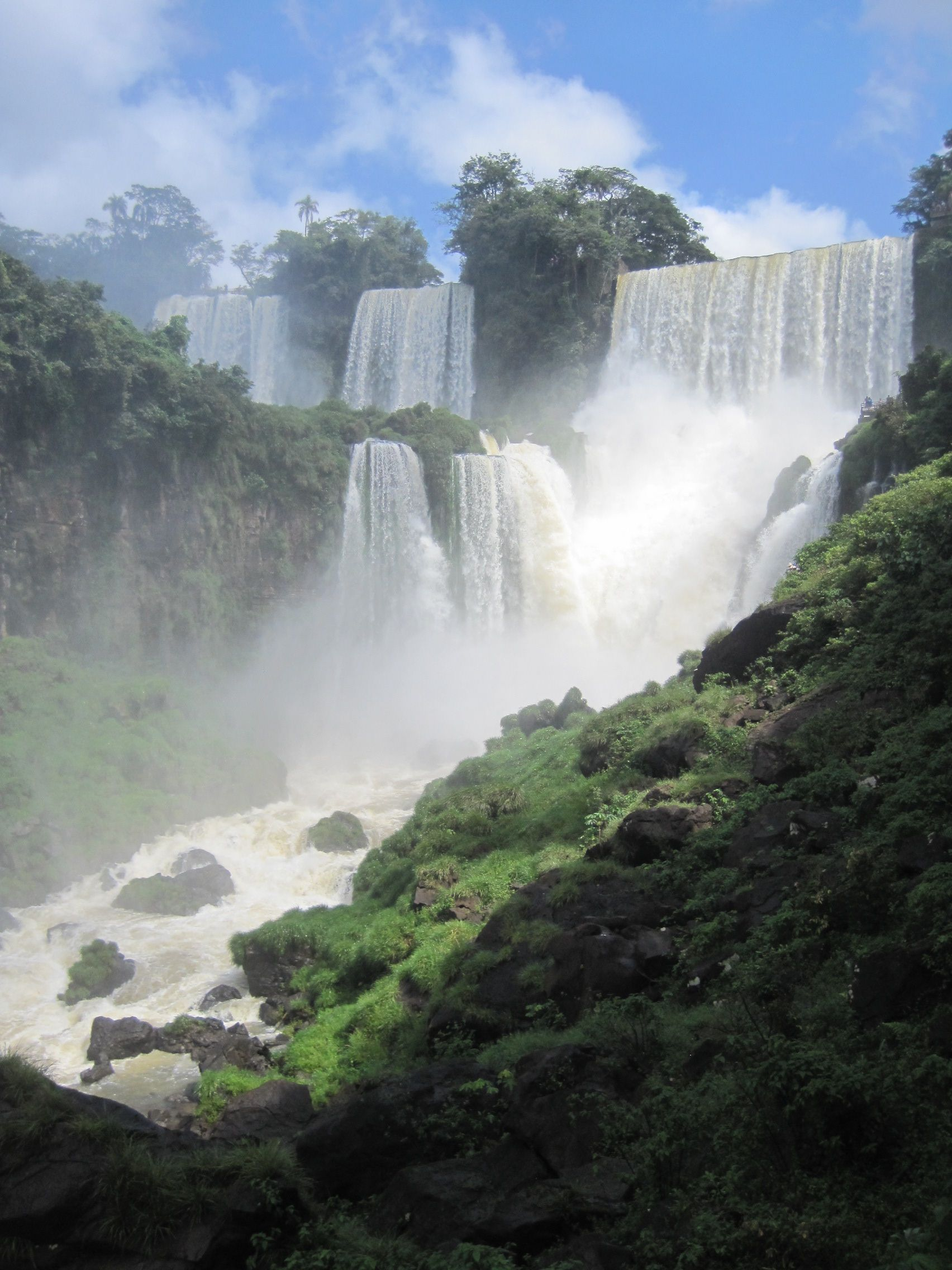 Iguazu Falls, Argentina Waterfall, Places, Outdoor