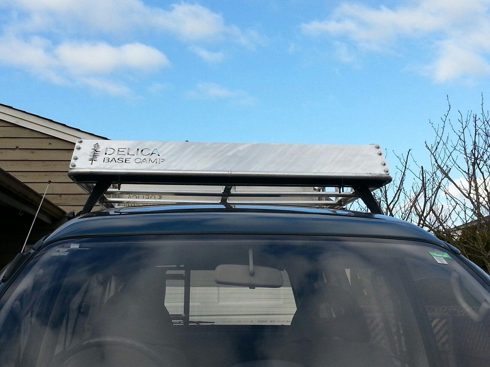Delica Roof basket Roof basket, Camper conversion, Delica