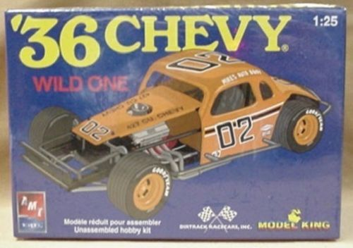 36 Chevy Modified Wild One Amt Model King Plastic Kit 1936 Model