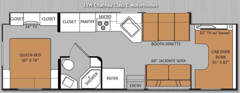 Park Art|My WordPress Blog_Thor Chateau Class C Motorhome Floor Plans