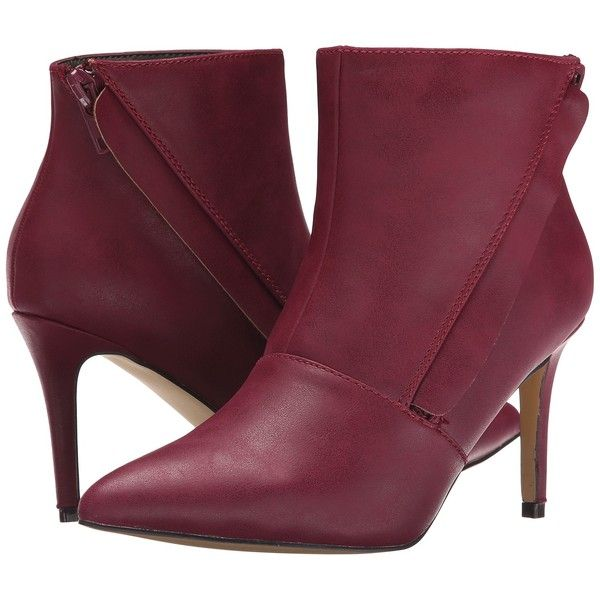 Michael Antonio Maja Women's Boots, Red ($24) ❤ liked on Polyvore featuring  shoes