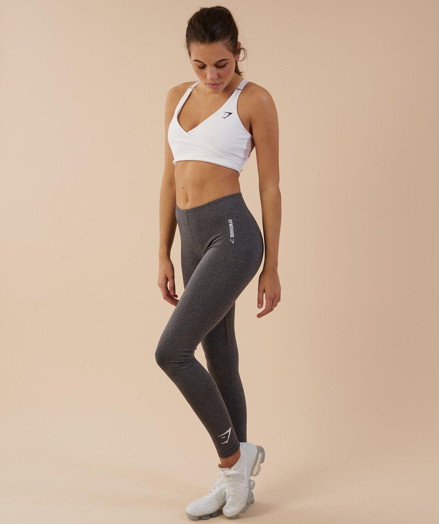 0fbb7d62c83941 Gymshark Ark Jersey Leggings - Charcoal Marl 3 | Workout Style ...