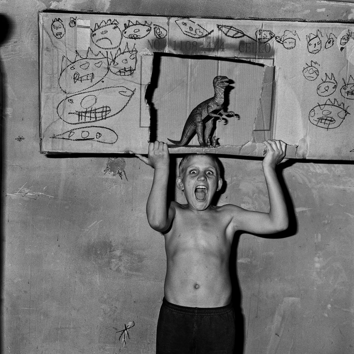 Photographed by Roger Ballen.