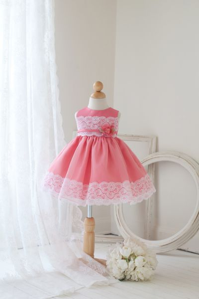 coral baby girl easter dresses | Infinity dress ideas | Pinterest ...