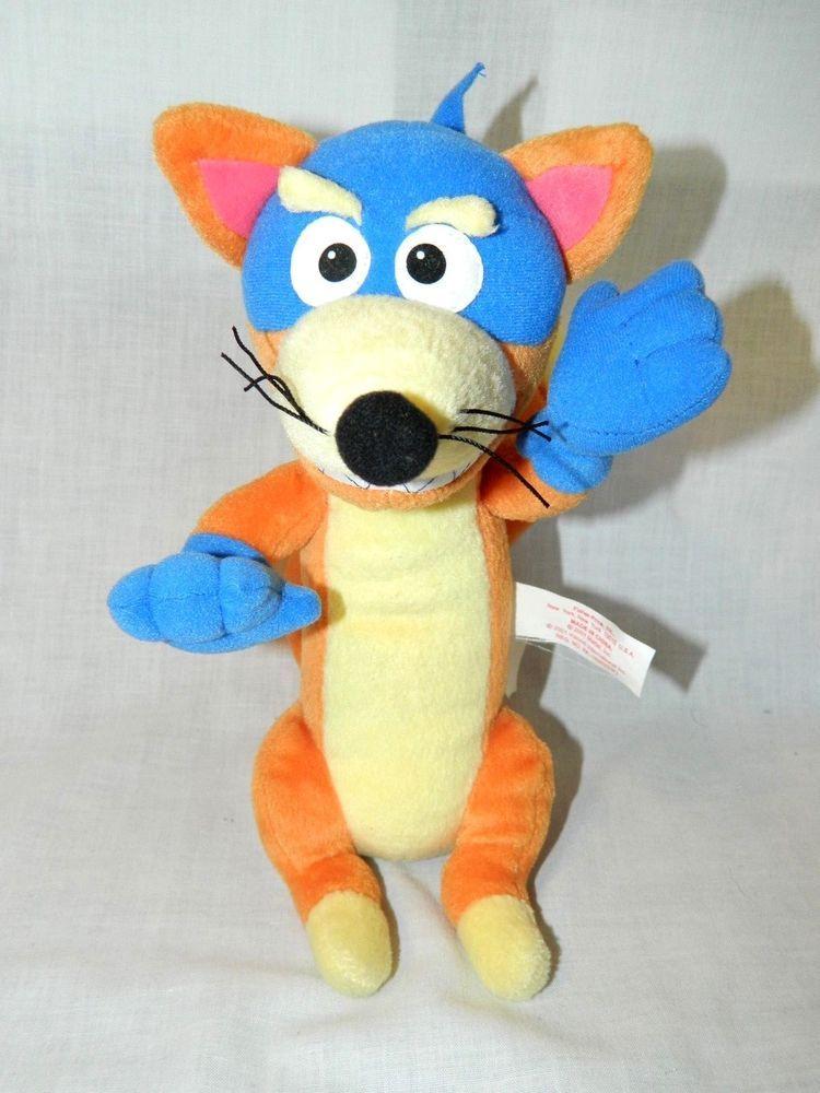 96d13caeb1b Dora The Explorer Swiper the Fox Talking Plush 10
