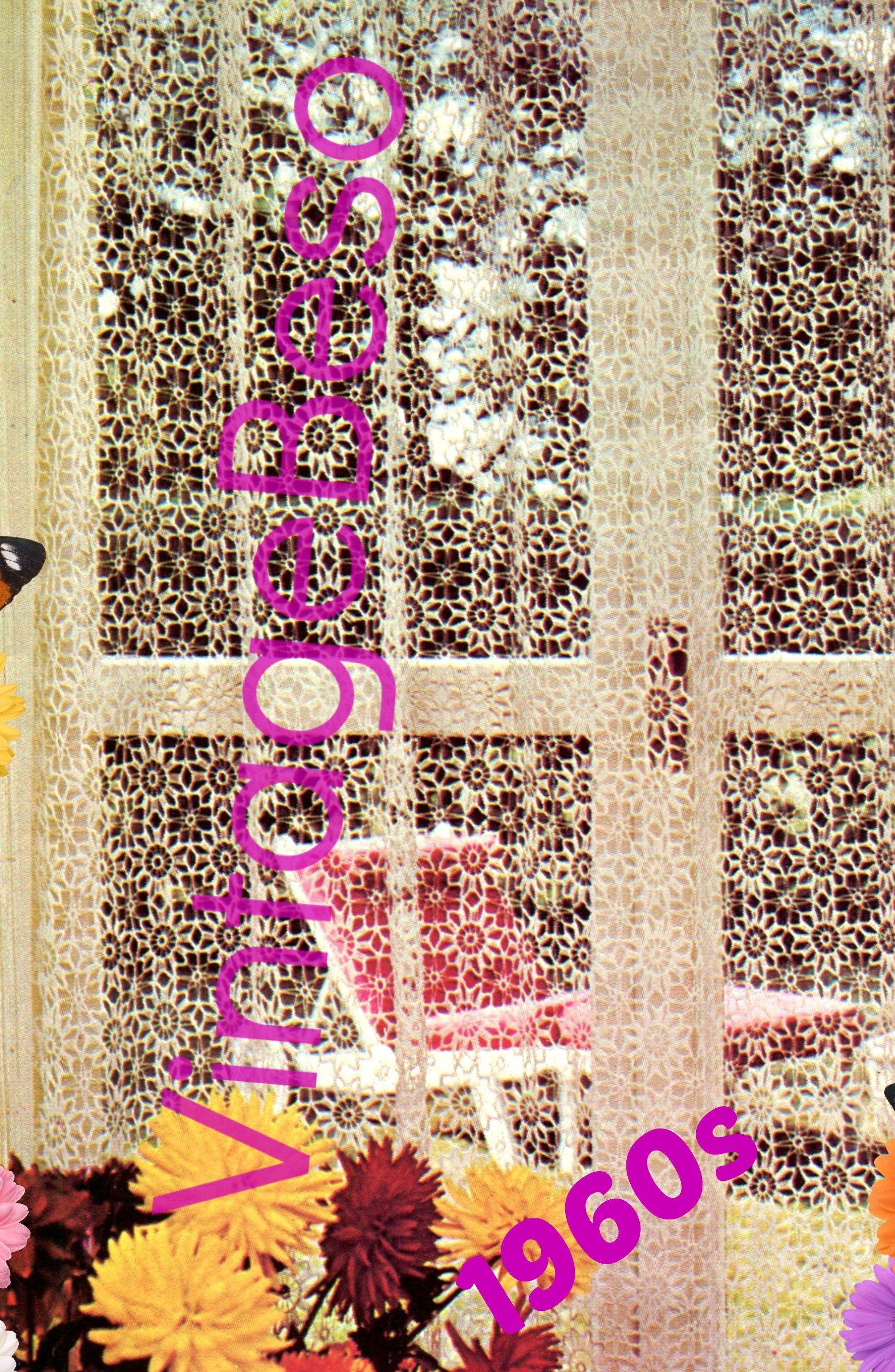 INSTANT DOWNLOAD • PdF Pattern • Flower Lace CURTAINs Crochet ...