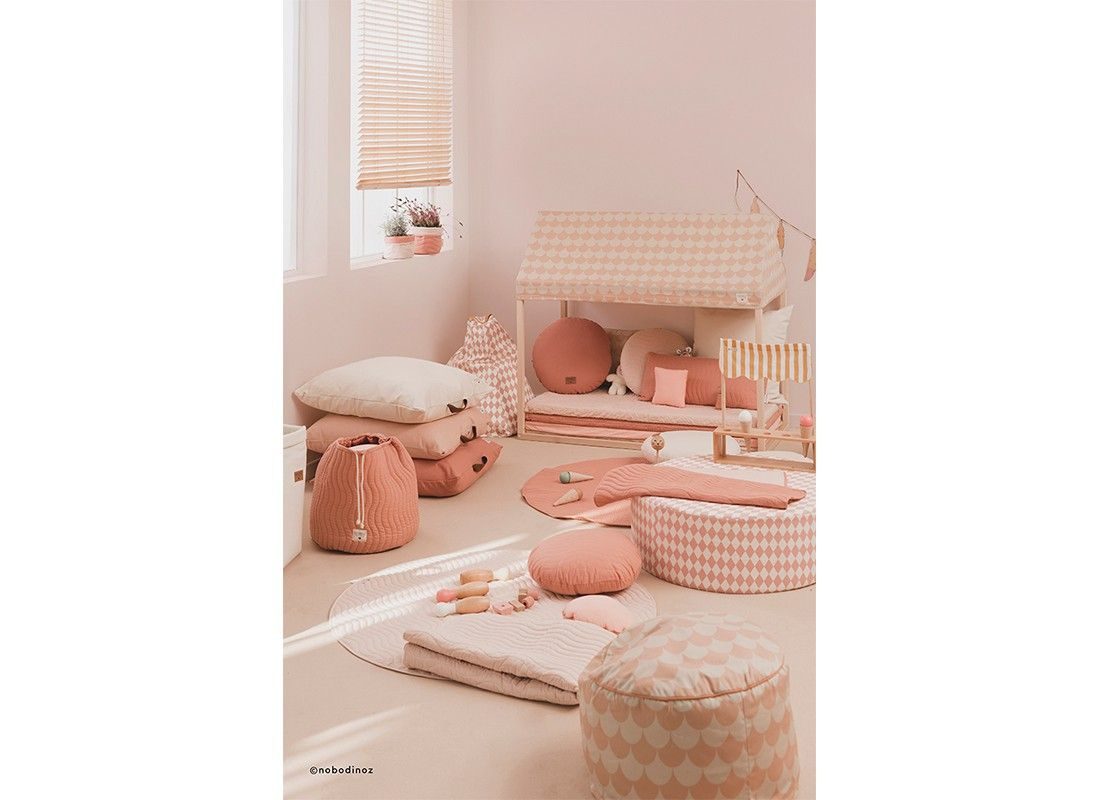Sitges Cushion Dolce Vita Pink Round Shaped Cushion With A  # Muebles Dolce Vita