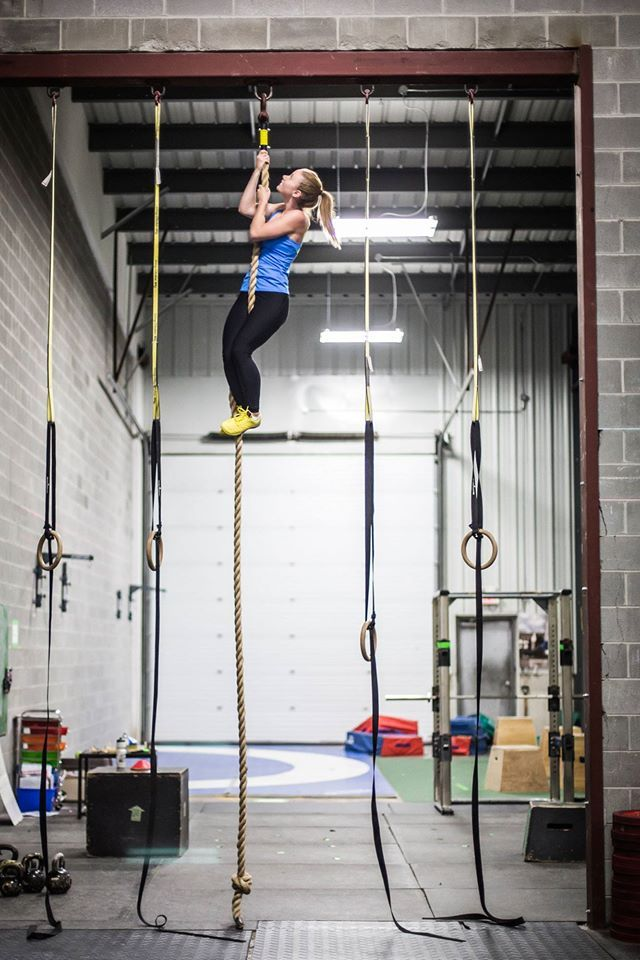 Trista Curran, of CrossFit Catalyst in Canada. Photo by Andreane Fraser