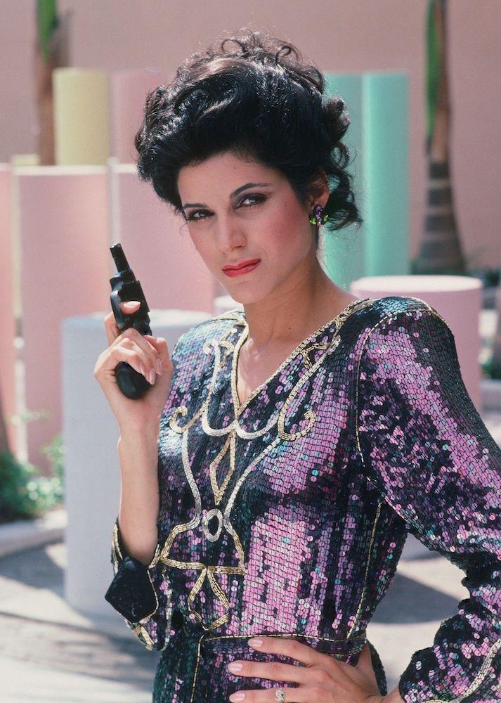 Theactioneer Saundra Santiago Miami Vice 1986 Miami Vice Fashion Miami Vice Costume Miami Vice