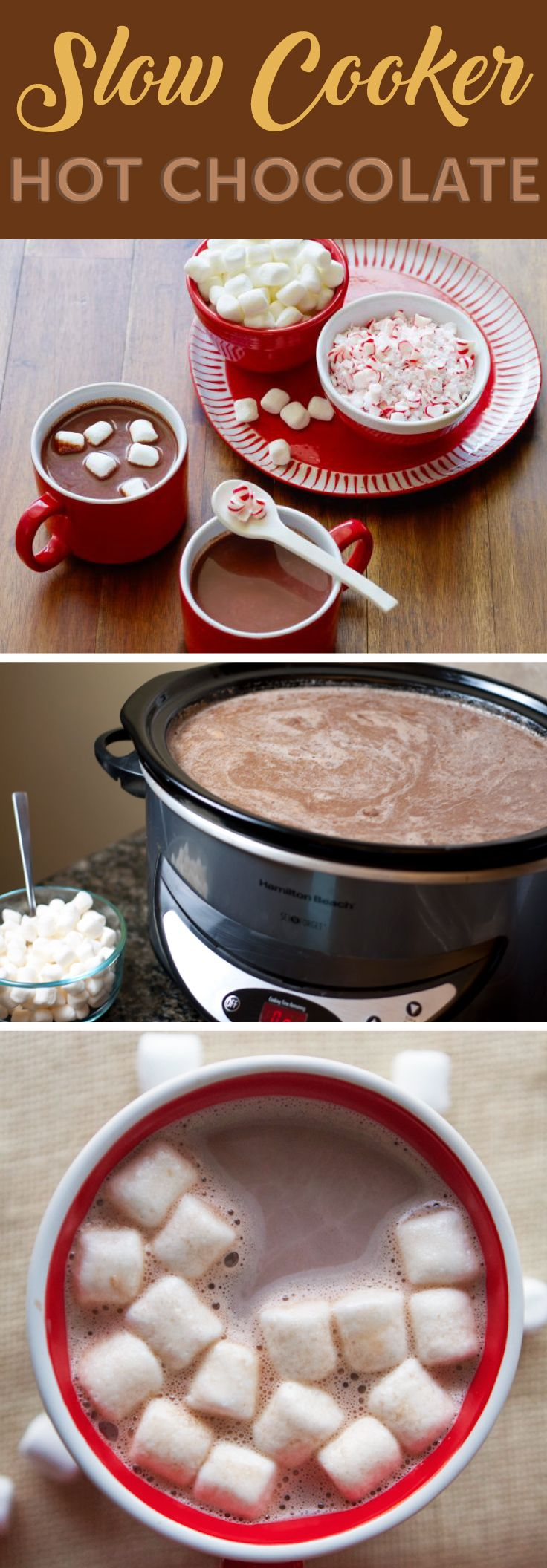 On these cold nights you need something to warm your cockles.  Try our recipe for Slow Cooker Hot Chocolate! Ideal for Halloween, Bonfire Night and Christmas Eve! #bonfirenightfood