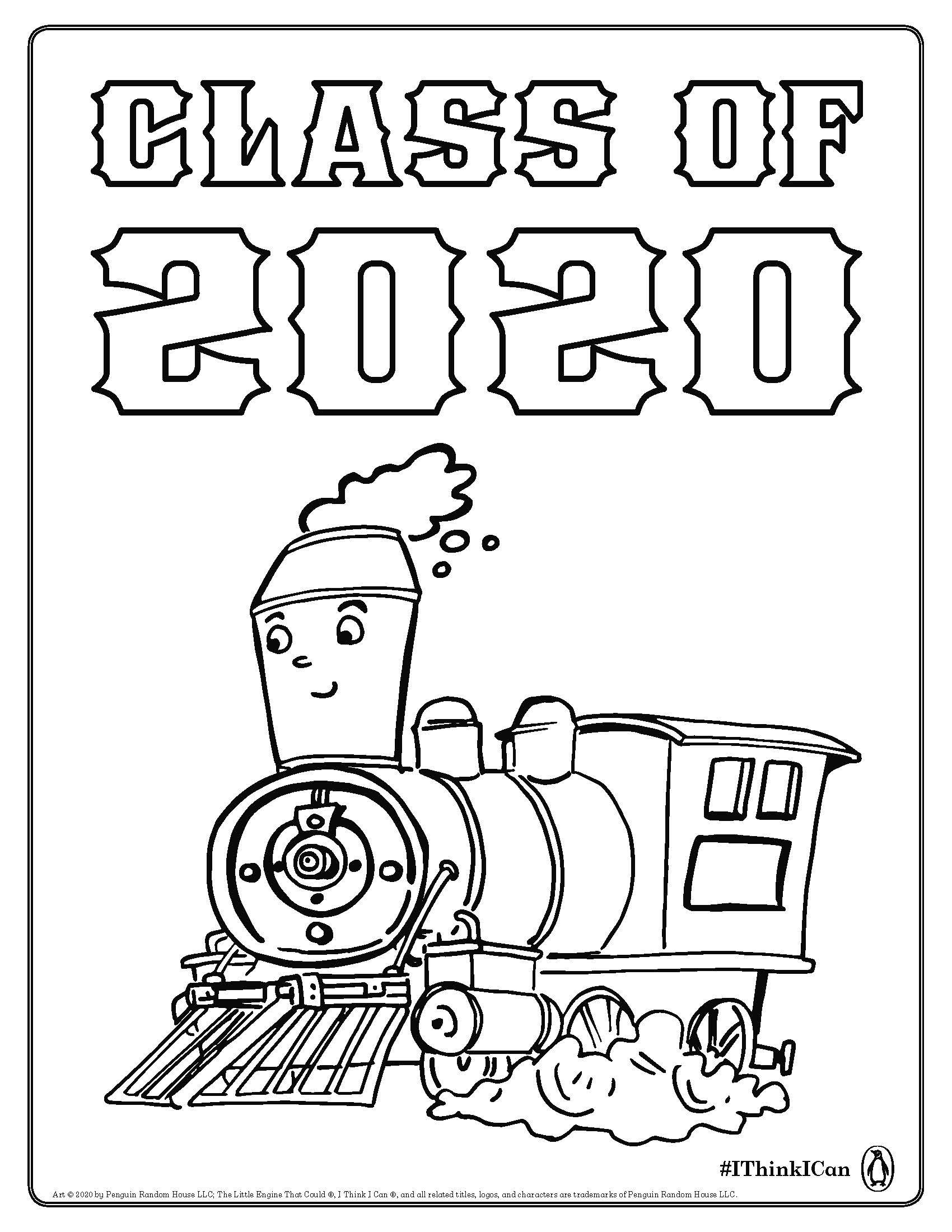 The Little Engine That Could Coloring Sheet In