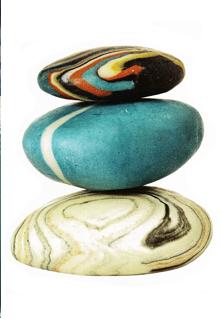 Beautiful - soap stones