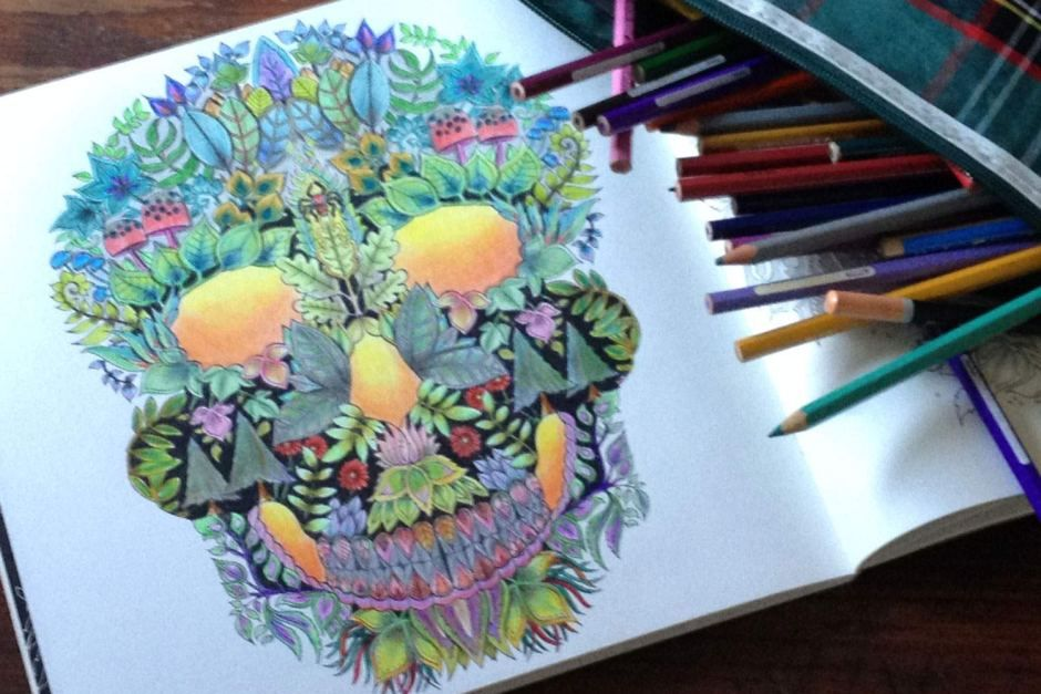 adult colouring | adult coloring | Pinterest | Adult coloring, Skull ...