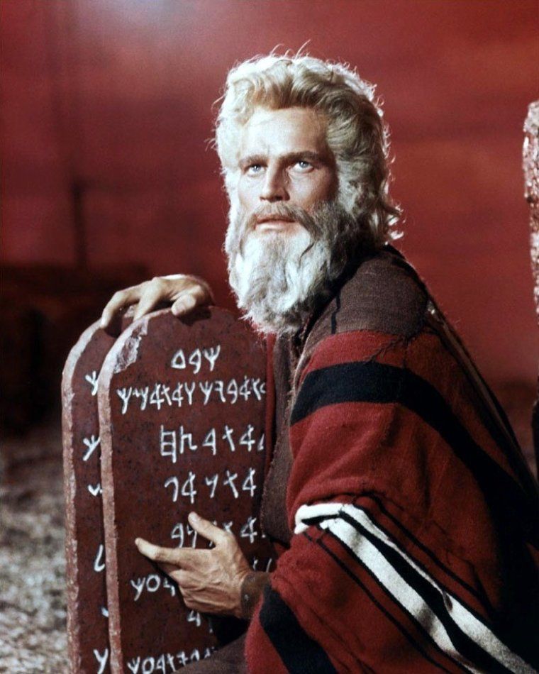 Amazing, never-seen images from the making of The Ten Commandments | Ten  commandments, Epic film and Movie