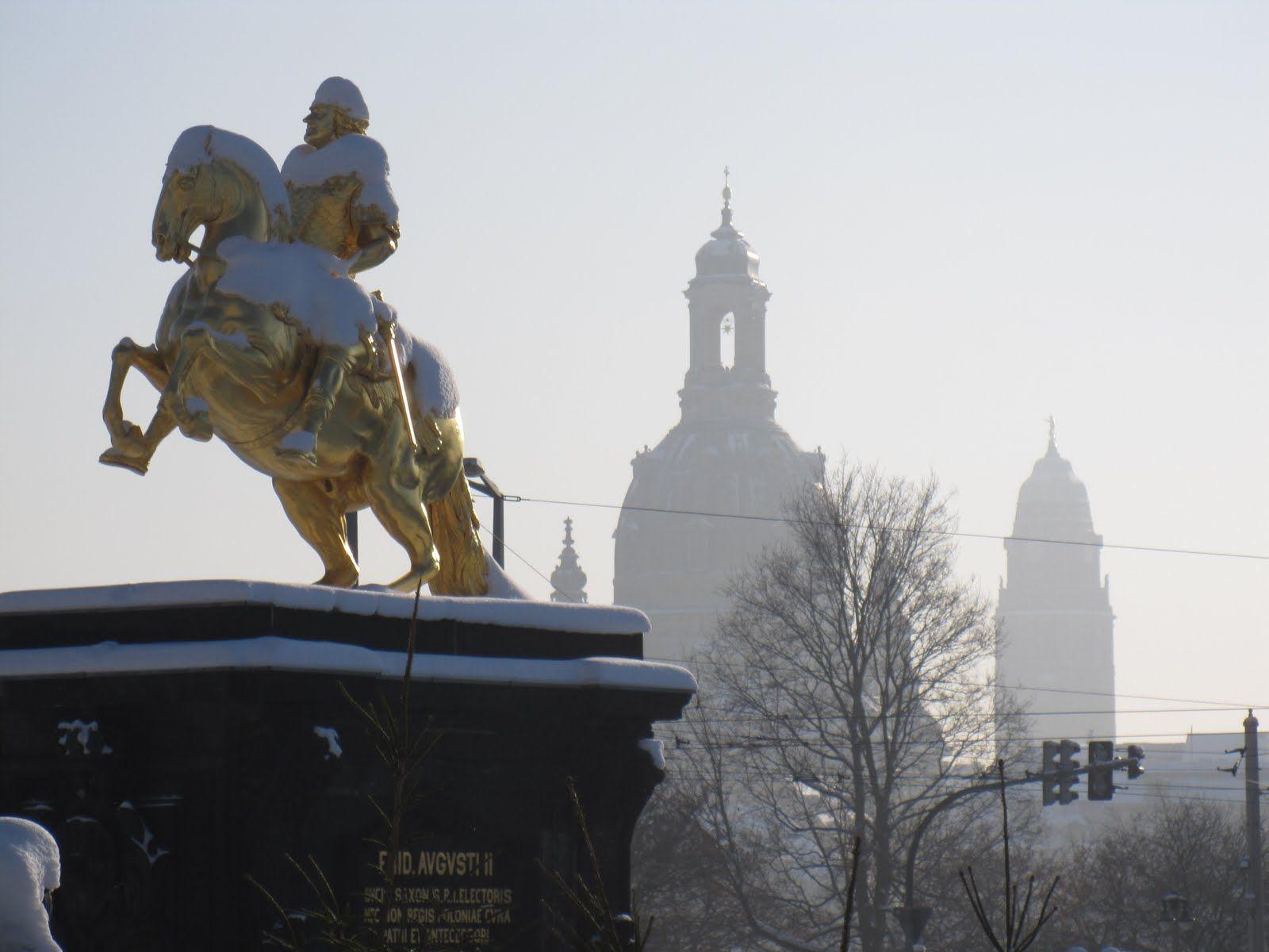 The Golden Rider Neustadt My Hood In Dresden Germany