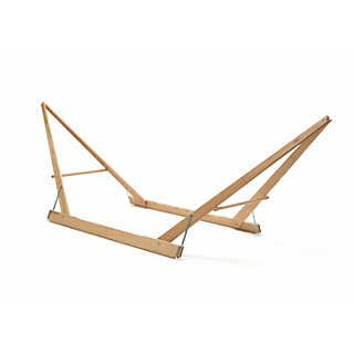 Folding Ash Wood Hammock Stand Garden Furniture Rede