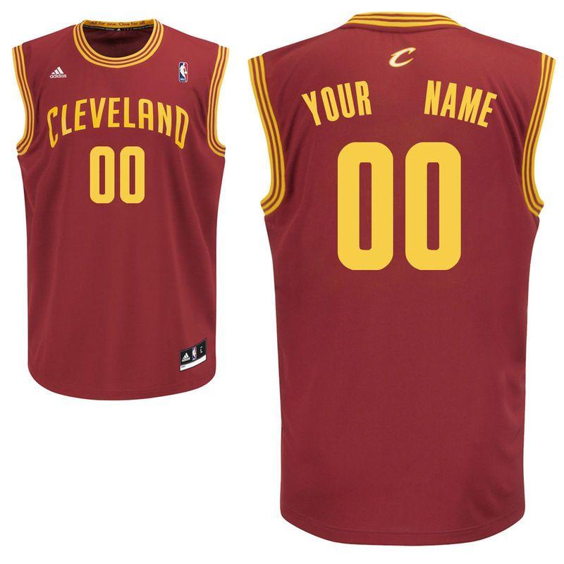 promo code 1f48c 2f6c2 adidas Cleveland Cavaliers Youth Custom Replica Road Jersey ...