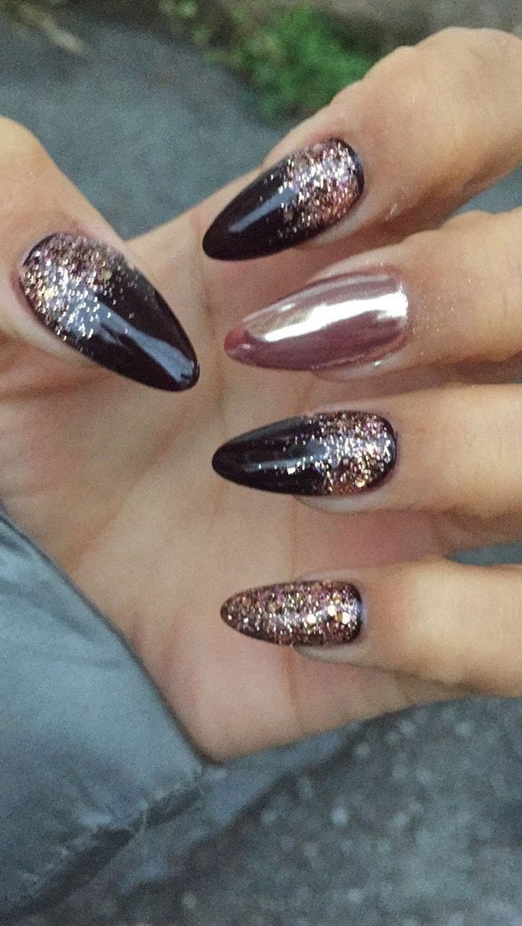50 Exciting Ideas For New Years Nails To Warm Up Your Holiday Mood
