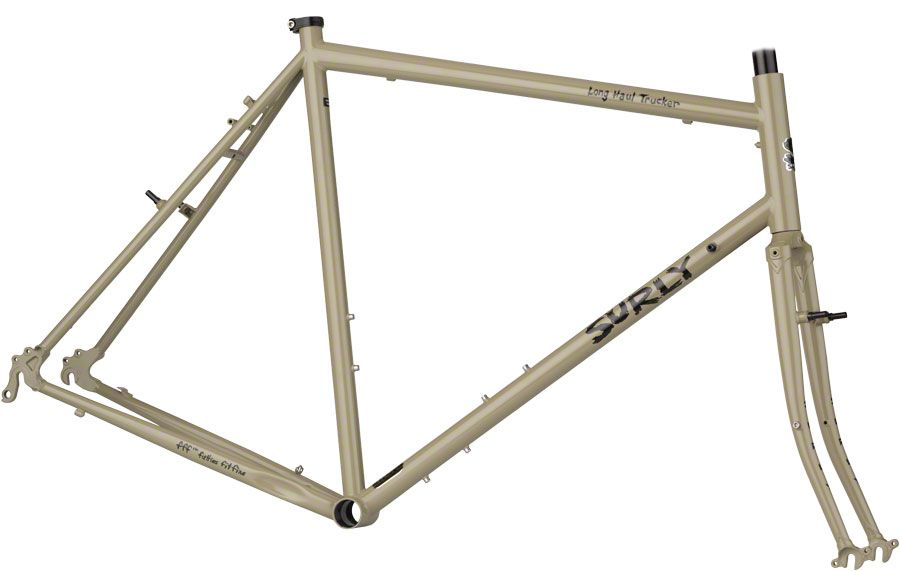 Surly Long Haul Trucker Frameset 64cm 700ccakipants Surly Long Haul Trucker Touring Bicycles Bicycle Frame