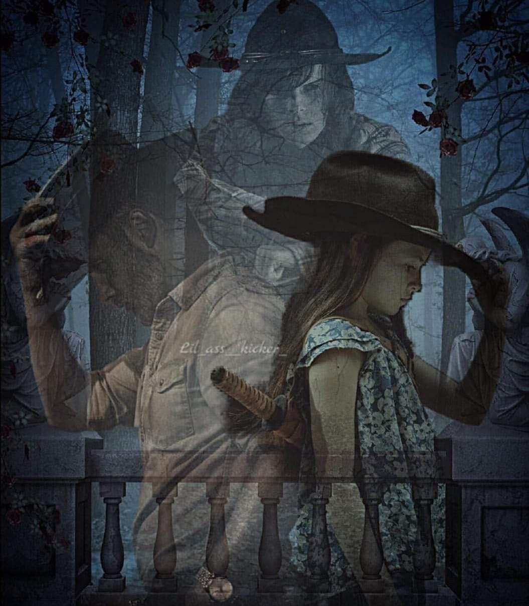 Die Grimes Familie. (Judith, Rick & Carl) .// The Walking Dead // TWD. –  Die Gr…