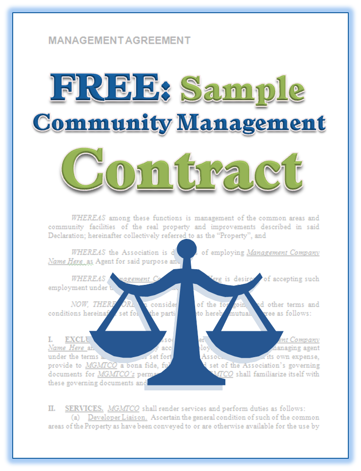 Download This Free Customizable Sample Management Contract Http