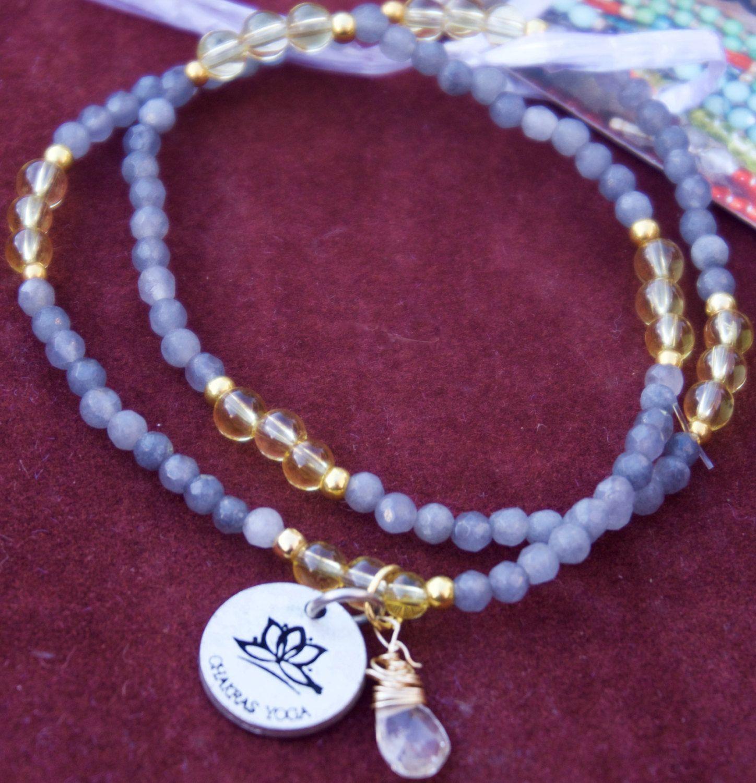 Good Fortune: Boho Chic Chakras Yoga Healing Jewelry Labradorite & Citrine by ChakrasYoga on Etsy