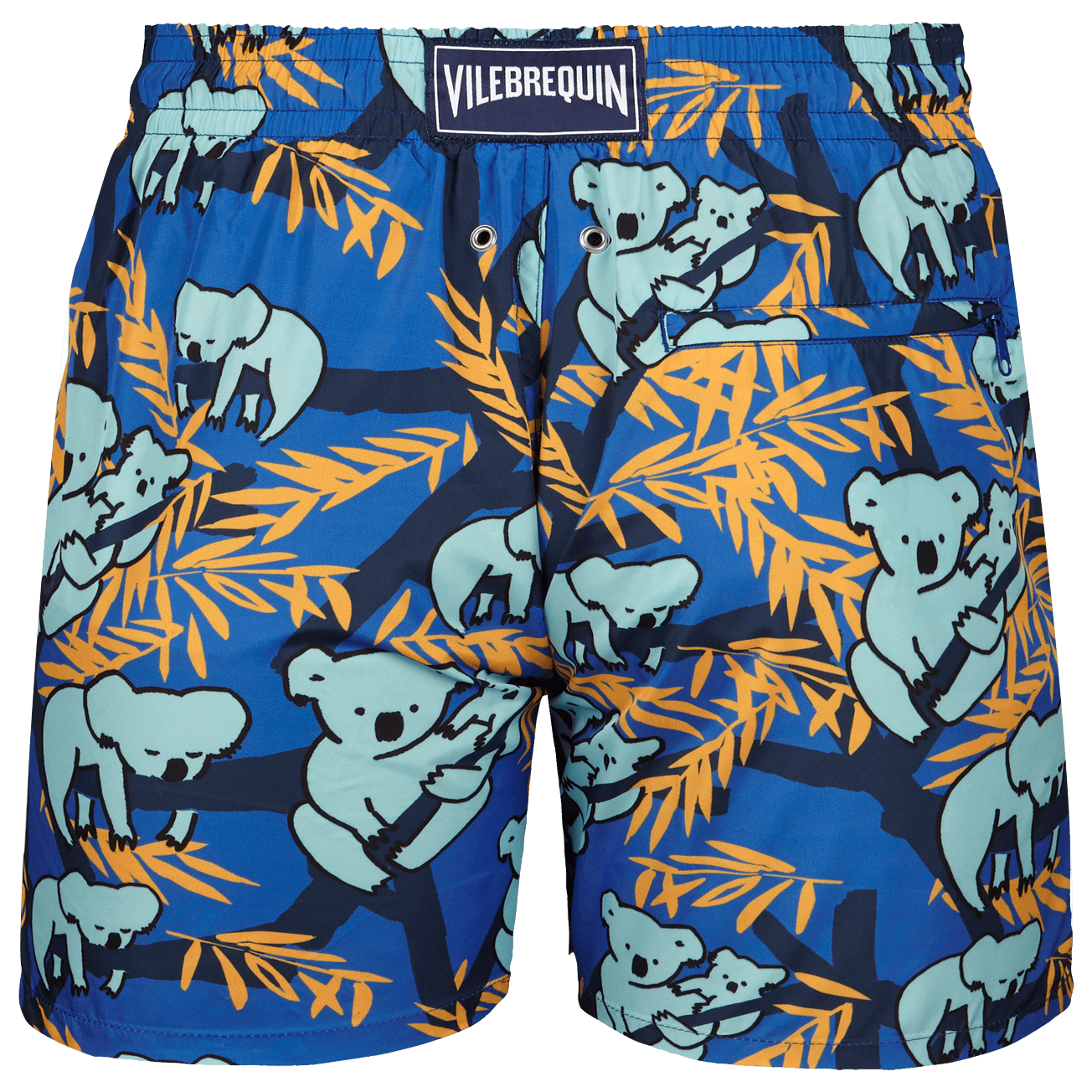 Koala Funny Swim Trunks Quick Dry Beachwear Sports Running Swim Board Shorts Mesh Lining