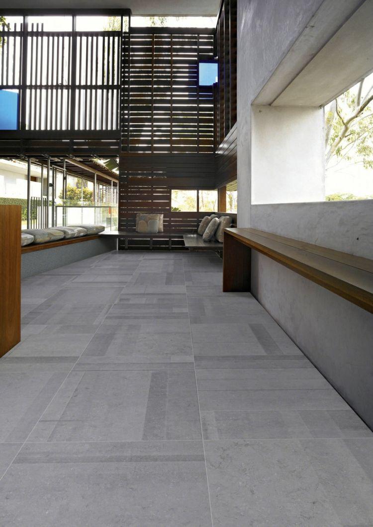 Graue Fliesen Fur Wand Und Boden 55 Moderne Wohnideen