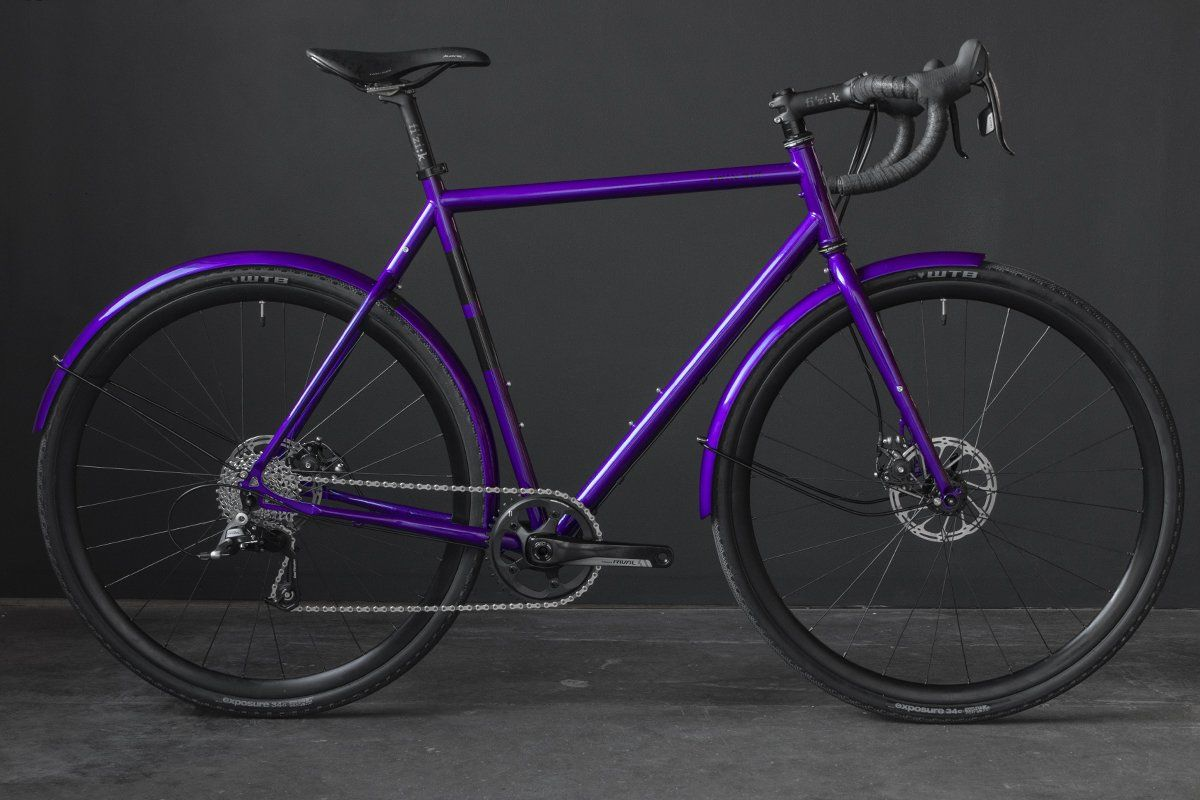 Standard Rando Complete Purple Mountain Bike Accessories Bike