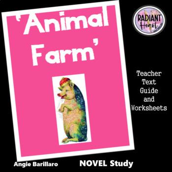 Animal Farm Middle To Senior High School Novel Study Ela Distance Learning High School Seniors Novel Studies High School