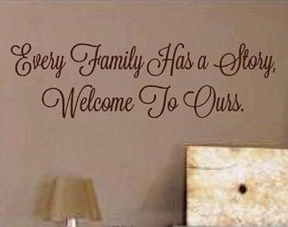 family vinyl quotes - family vinyl wall decals - family vinyl decal
