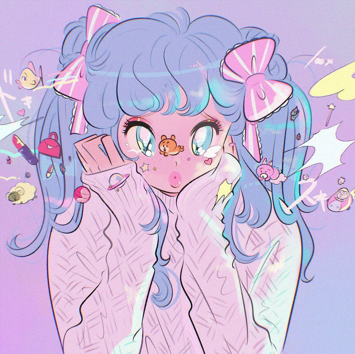 ᴰʳ.ᴍᴏʀɪᴄᴋʏ on in 2020 Aesthetic anime, Cute art styles