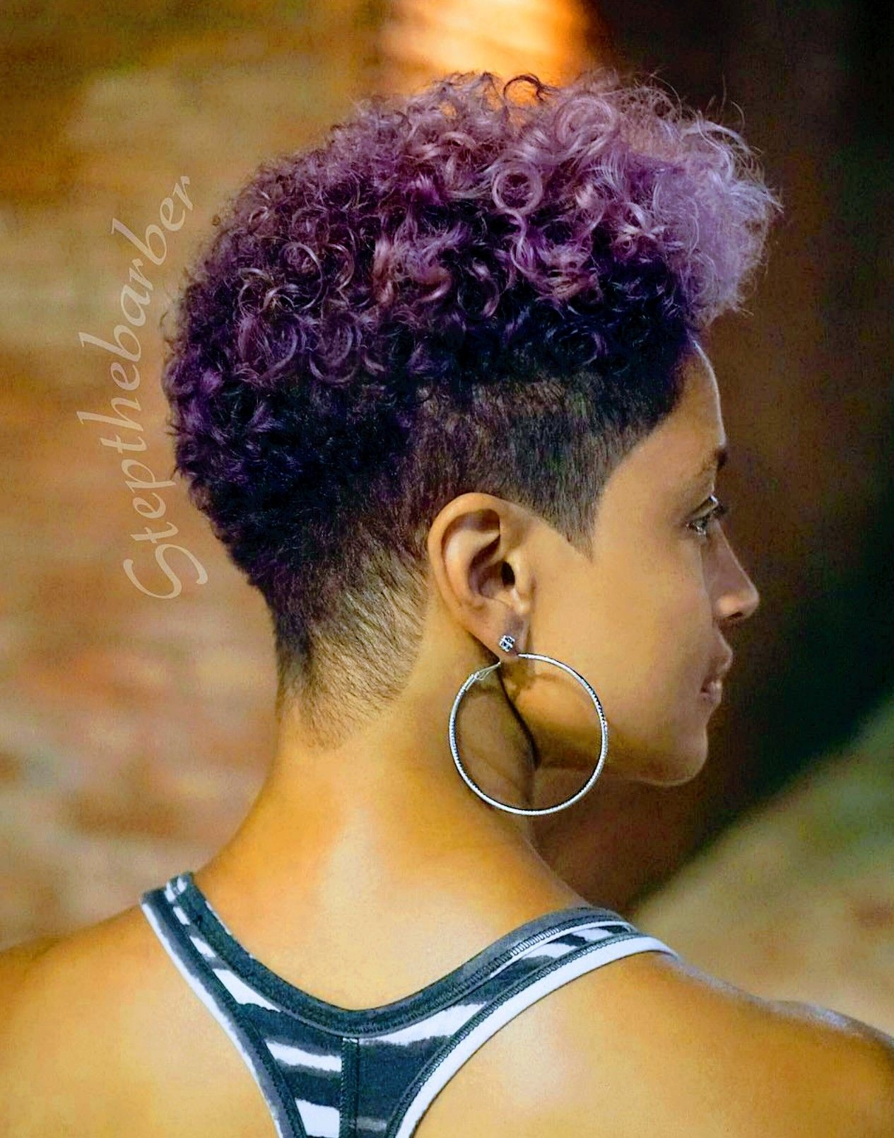 Dope Cut And Colors Natural Hair Short Hair Styles