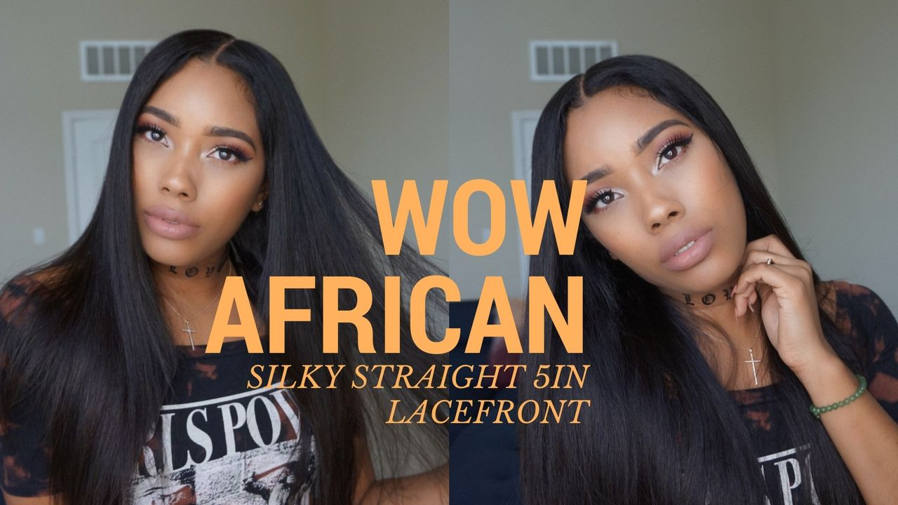 Virgin Brazilian Lace Front Wigs with 5In Lace ft