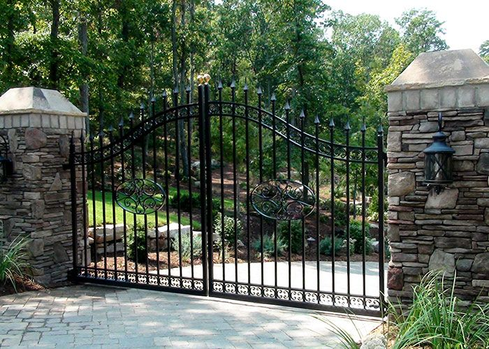 Driveway Gates Entrance Gates Heirloom Stair Iron Entrance