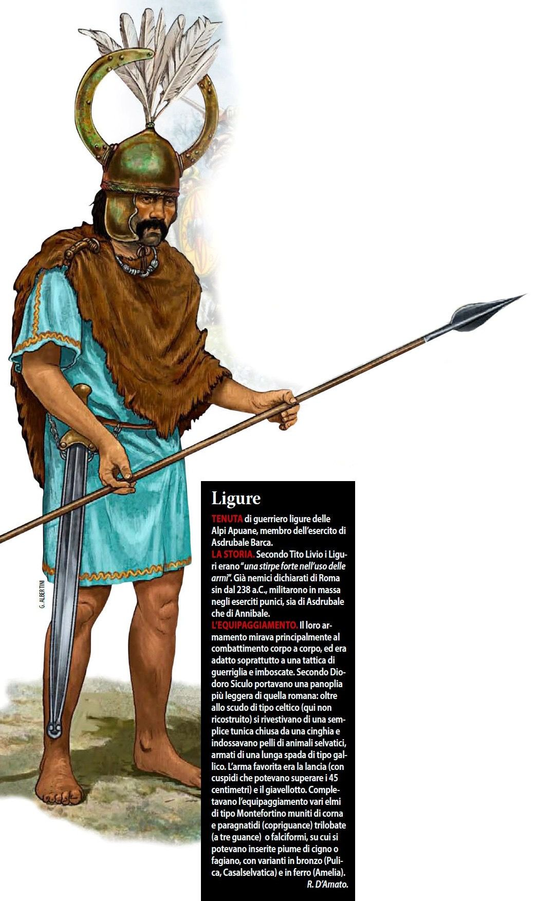 -0238 Guerriero ligure del III secolo a.c.