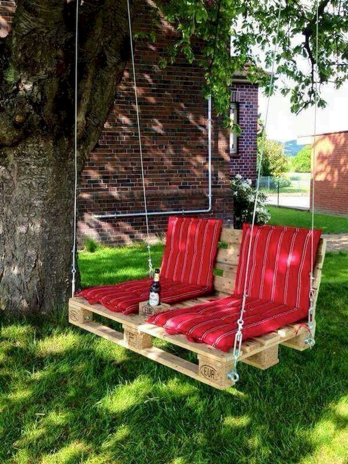 33 Ideas For Pallet Swings Backyard